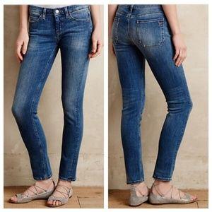 MIH Breathless Low Rise Skinny Jeans in Honeyboy